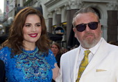 Hayley Atwell and Ray Winstone attend the UK Film Premiere of 'The Sweeney' at Vue Leicester Square on September 3 2012 in London England