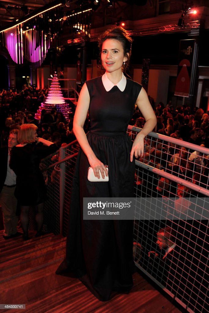 Hayley Atwell attends an after party following the Moet British Independent Film Awards 2013 at Old Billingsgate Market on December 8, 2013 in London, England.