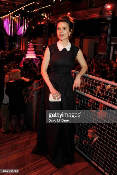 Hayley Atwell attends an after party following the Moet British Independent Film Awards 2013 at Old Billingsgate Market on December 8 2013 in London...