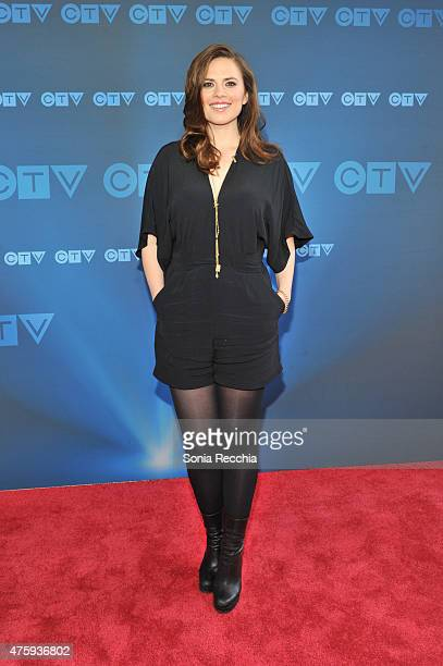Hayley Atwell attends CTV Upfront 2015 Presentation at Sony Centre For Performing Arts on June 4 2015 in Toronto Canada