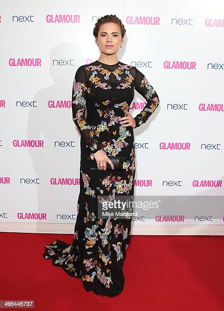 Hayley Atwell attends the Glamour Women of the Year Awards at Berkeley Square Gardens on June 3 2014 in London England