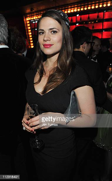Hayley Atwell attends the ICA fundraising gala at KOKO on March 24 2010 in London England