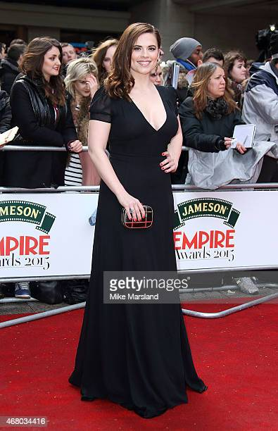 Hayley Atwell attends the Jameson Empire Awards 2015 at Grosvenor House on March 29 2015 in London England