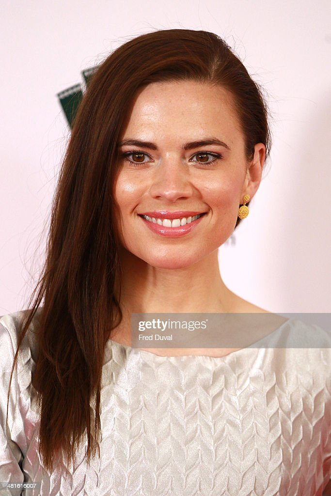 Hayley Atwell attends the Jameson Empire Film Awards at The Grosvenor House Hotel on March 30, 2014 in London, England.