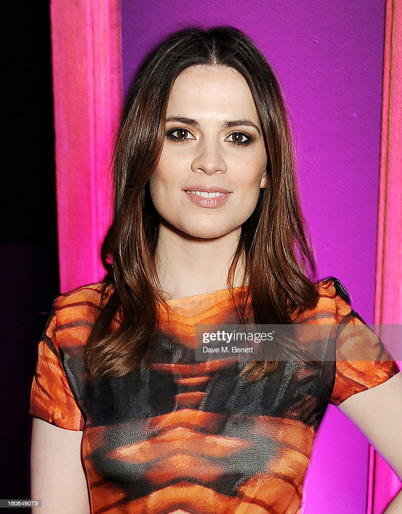 Hayley Atwell attends the London Evening Standard British Film Awards supported by Moet & Chandon and Chopard at the London Film Museum on February 4, 2013 in London, England.