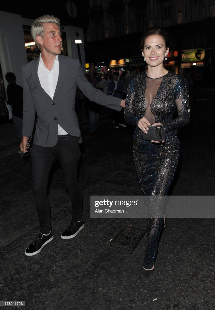 <a gi-track='captionPersonalityLinkClicked' href=/galleries/search?phrase=Hayley+Atwell&family=editorial&specificpeople=2331262 ng-click='$event.stopPropagation()'>Hayley Atwell</a> sighting at the World's End after party at DSTRKT on July 10, 2013 in London, England.
