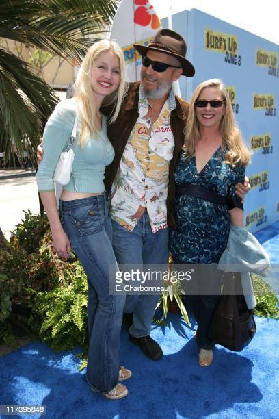 Hayley Bridges Jeff Bridges and Susan Geston during The Premiere of Columbia Pictures and Sony Pictures Animation's 'SURF'S UP' at Mann Village...
