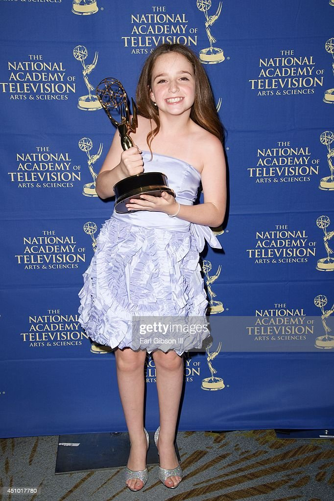 Hayley Faith Negrin attends the Daytime Creative Arts Emmy Awards at Westin Bonaventure Hotel on June 20, 2014 in Los Angeles, California.