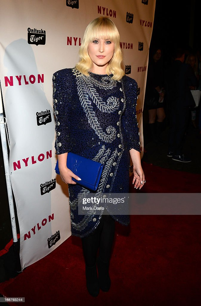 Hayley Hasselhoff attends NYLON And Onitsuka Tiger Celebrate The Annual May Young Hollywood Issue at The Roosevelt Hotel on May 14, 2013 in Hollywood, California.