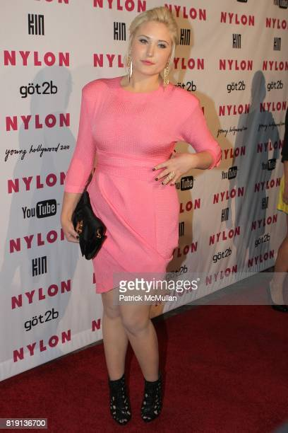 Hayley Hasselhoff attends NYLON YouTube May Young Hollywood Party at Roosevelt Hotel on May 12 2010 in Los Angeles California