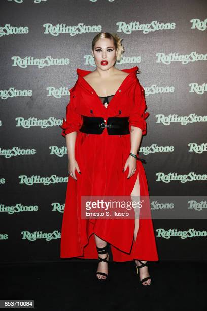 Hayley Hasselhoff attends Rolling Stone Party during Milan Fashion Week Spring/Summer 2018 at on September 24 2017 in Milan Italy