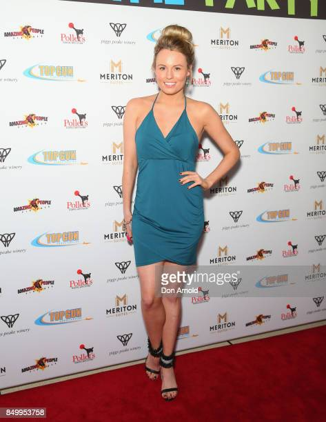 Hayley Hughes arrives ahead of the Sydney premiere of Life of the Party on September 20 2017 in Sydney Australia