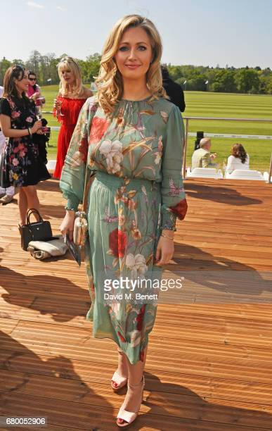 Hayley McQueen attend the Audi Polo Challenge at Coworth Park on May 7 2017 in Ascot United Kingdom