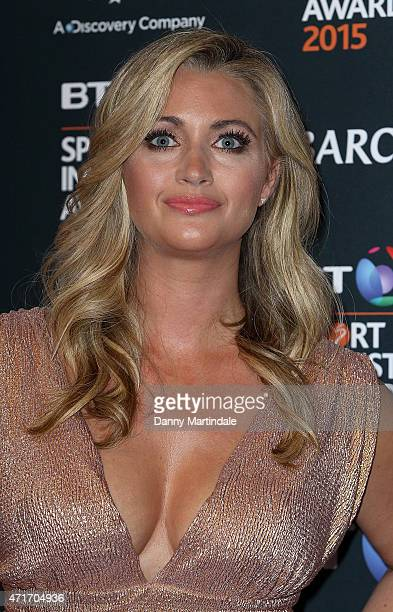 Hayley McQueen attends the BT Sports Industry awards at Battersea Evolution on April 30 2015 in London England
