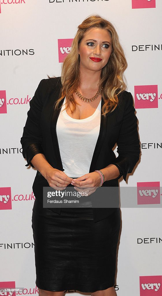 Hayley McQueen attends the launch party of very.co.uk's Definitions range at Somerset House on September 4, 2013 in London, England.