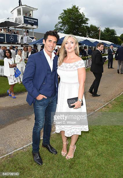 Hayley McQueen attends the Laureus King Power Polo Cup at Ham Polo Club on June 16 2016 in Richmond England