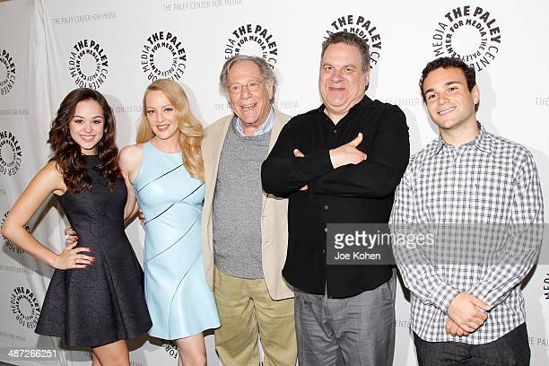 Hayley Orrantia Wendi McLendonCovey George Segal Jeff Garlin and Troy Gentile attend The Paley Center For Media Presents 'The Goldbergs Your TV Trip...