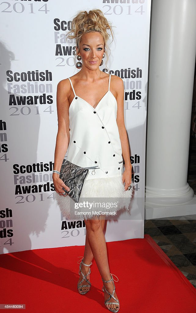 Hayley Scanlan attends The Scottish Fashion Awards on September 1, 2014 in London, England.