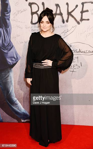 Hayley Squires attends the 'I Daniel Blake' People's Premiere at Vue West End on October 18 2016 in London England