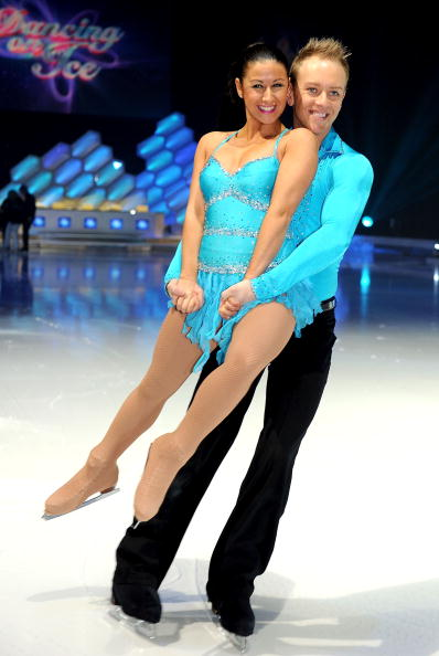 hayley and daniel dancing on ice 2014 relationship