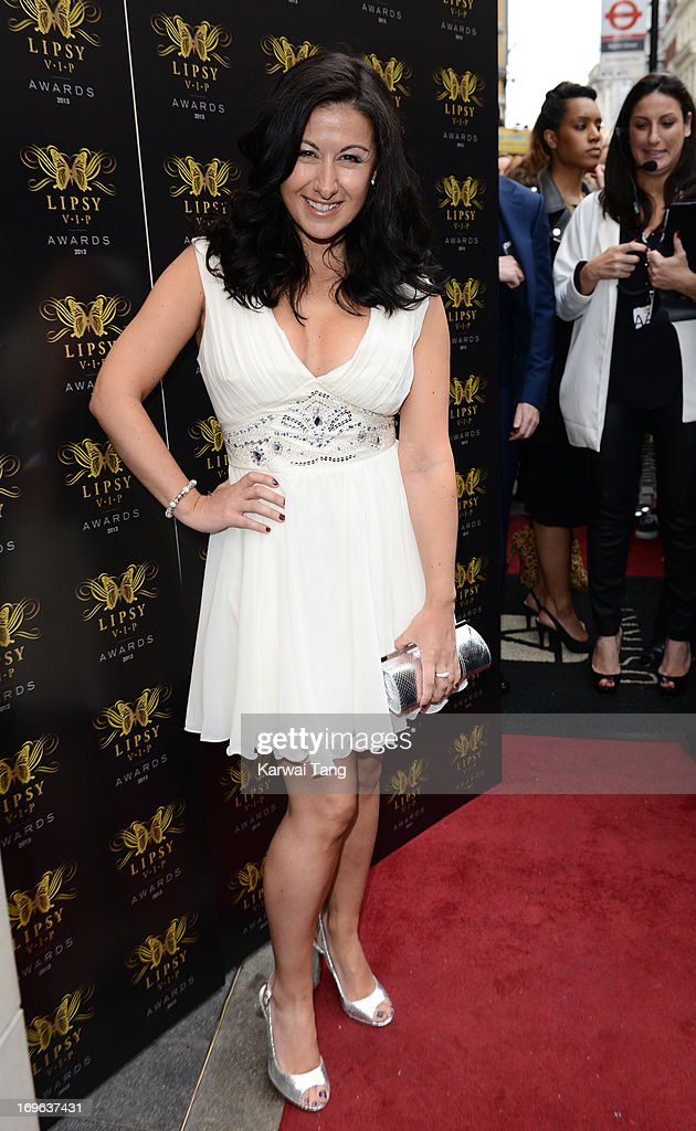 Hayley Tamaddon attends the Lipsy VIP Fashion Awards 2013 at DSTRKT on May 29, 2013 in London, England.