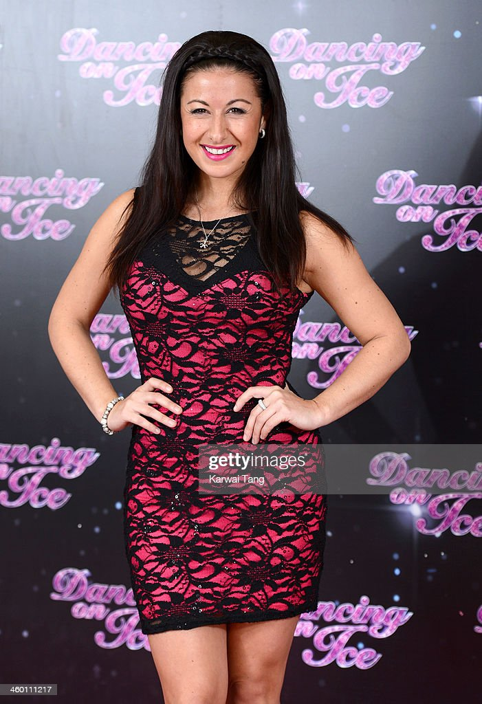 Hayley Tamaddon attends the series launch photocall for 'Dancing on Ice' held at the London Studios on January 2, 2014 in London, England.