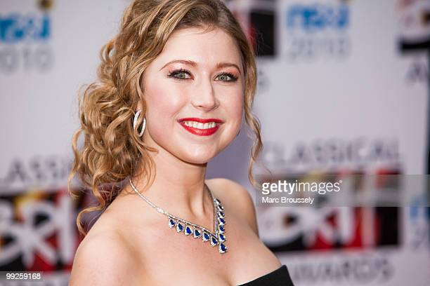 Hayley Westenra attends the Classical BRIT Awards at Royal Albert Hall on May 13 2010 in London England