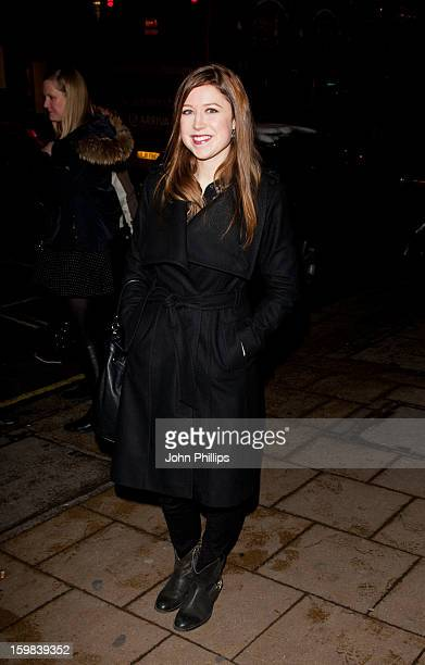 Hayley Westenra attends the VIP screening of 'Love in Portofino' on January 21 2013 in London England