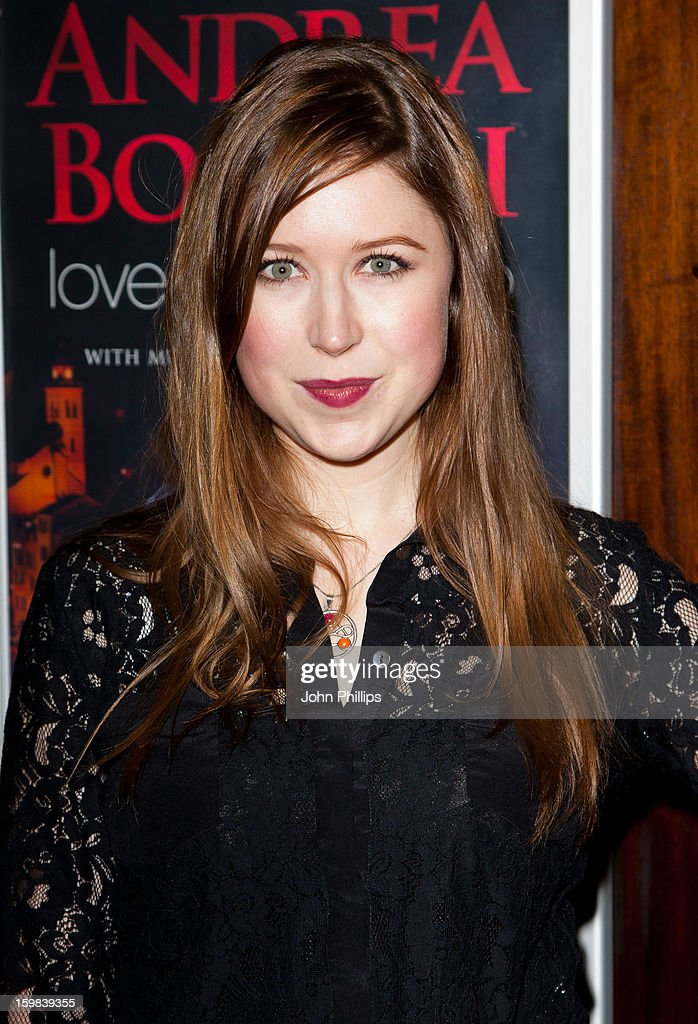 <a gi-track='captionPersonalityLinkClicked' href=/galleries/search?phrase=Hayley+Westenra&family=editorial&specificpeople=215409 ng-click='$event.stopPropagation()'>Hayley Westenra</a> attends the VIP screening of 'Love in Portofino' on January 21, 2013 in London, England.