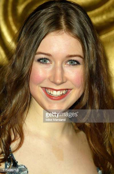 Hayley Westenra during BAFTA Children's Film and Television Awards Red Carpet at London Park Lane Hilton in London Great Britain