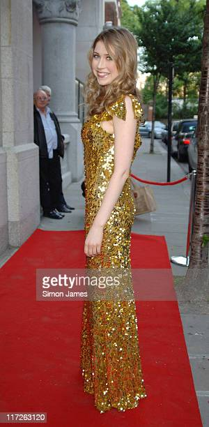 Hayley Westenra during Hayley Westenra And Friends In Aid Of Global Angels June 6 2006 at Cadogan Hall in London Great Britain