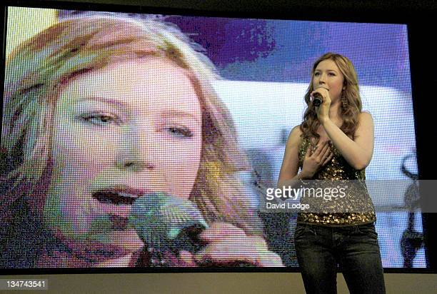 Hayley Westenra during Hayley Westenra InStore Performance and Album Signing at HMV in London September 27 2005 at HMV in London Great Britain
