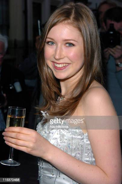 Hayley Westenra during Hayley Westenra's 18th Birthday Party at Soho Lodge in London Great Britain