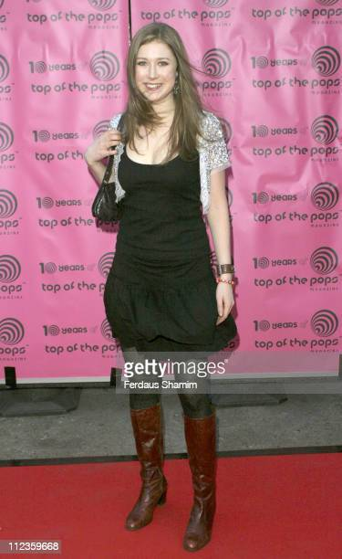 Hayley Westenra during Top of The Pops Magazine 10th Anniversary Party at Ministry of Sound in London Great Britain
