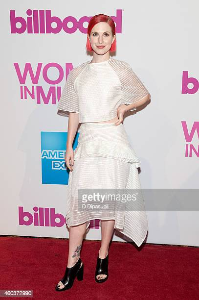 Hayley Williams attends the 2014 Billboard Women In Music Luncheon at Cipriani Wall Street on December 12 2014 in New York City