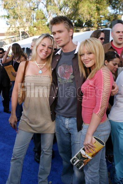 Haylie Duff Chad Michael Murray and Hilary Duff during ...