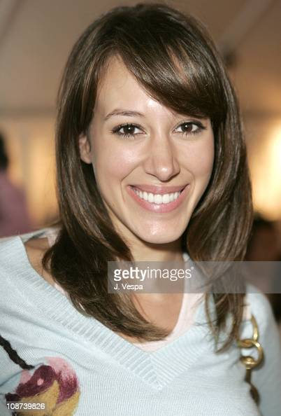 Haylie Duff during Coach Flagship Store Opening on Rodeo Drive at Coach Store in Beverlry Hills California United States