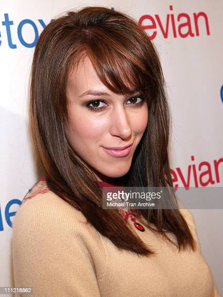 Haylie Duff during Evian Detox Spa Launch Party February 27 2006 at Evian Detox Spa in Beverly Hills California United States