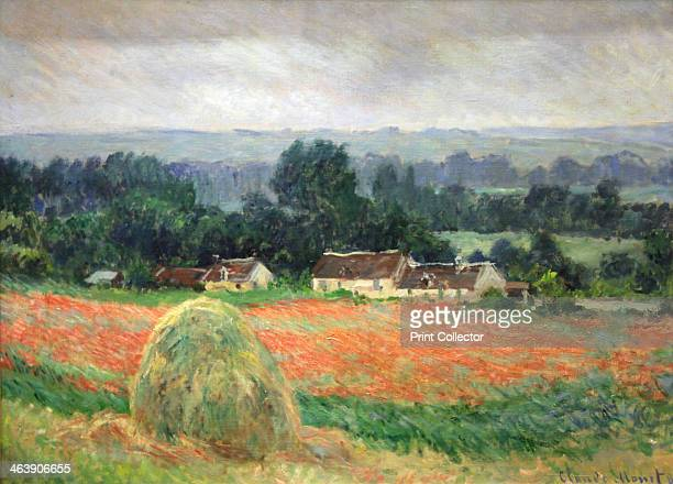'Haystack at Giverny' 1886 Found in the collection of The Hermitage St Petersburg