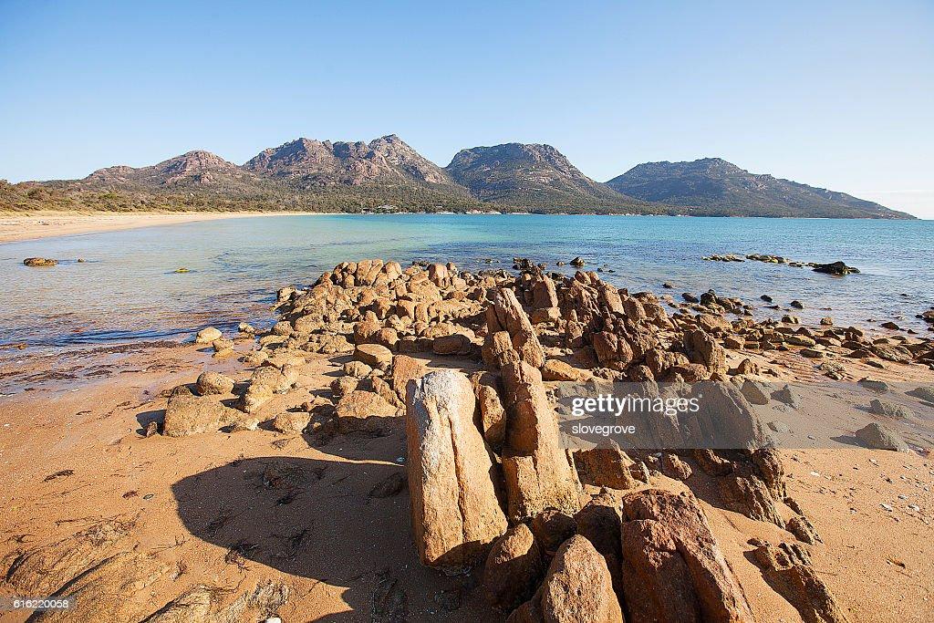 Hazards Ranges Tasmania : Stock-Foto