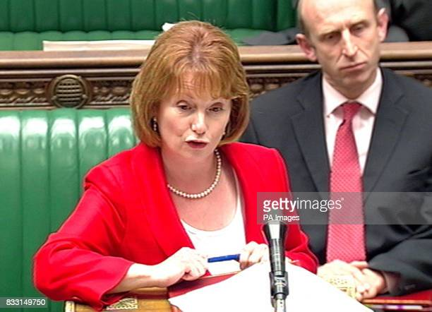 Hazel Blears addresses the House of Commons