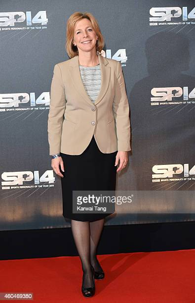 Hazel Irvine attends the BBC Sports Personality of the Year awards at The Hydro on December 14 2014 in Glasgow Scotland