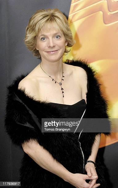 Hazel Irvine during 2006 Royal Television Society Sports Awards at Grosvenor House in London Great Britain