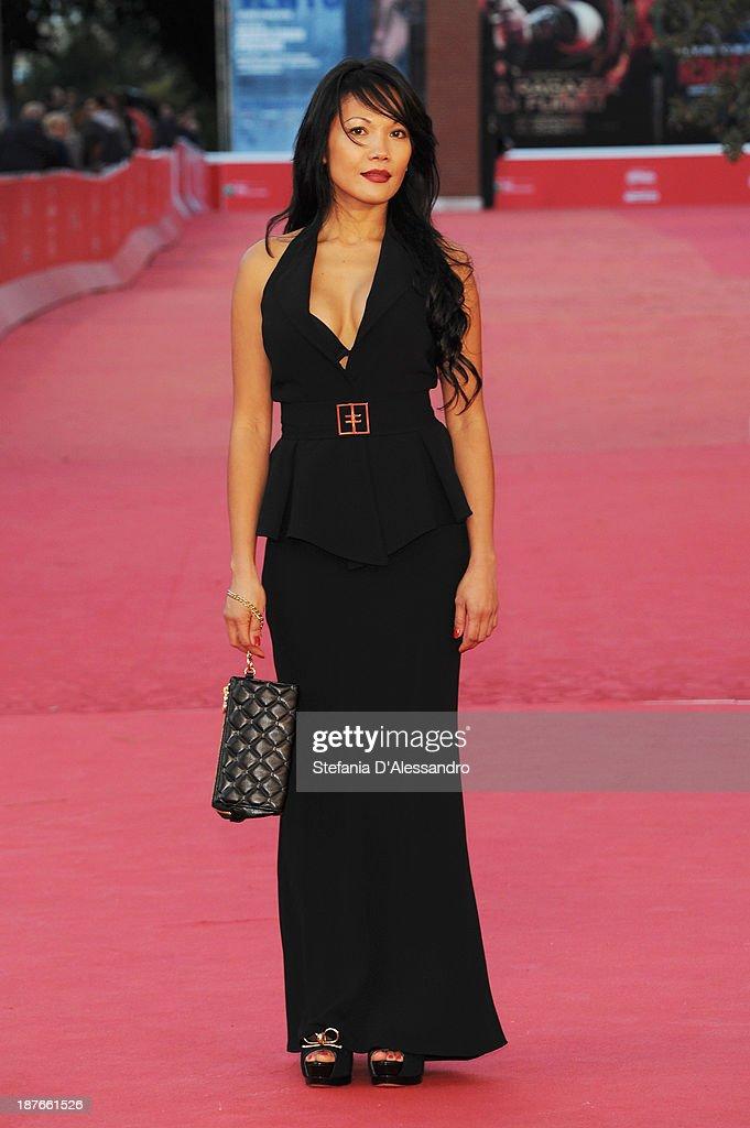 Hazel Morillo attends 'Se Chiudo Gli Occhi Non Sono Piu Qui' Premiere during The 8th Rome Film Festival on November 11, 2013 in Rome, Italy.
