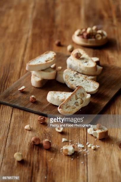 Hazelnut Biscotti (Italian Biscuits)