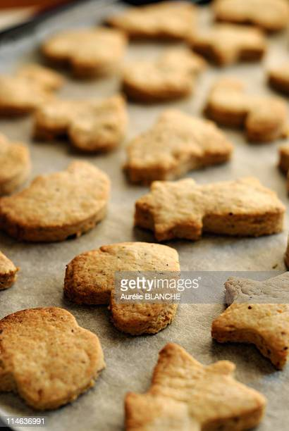 Hazelnut shortbread
