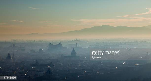 Nebbia Roma