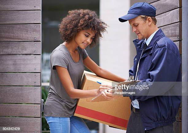 He always enjoyed delivering to her address