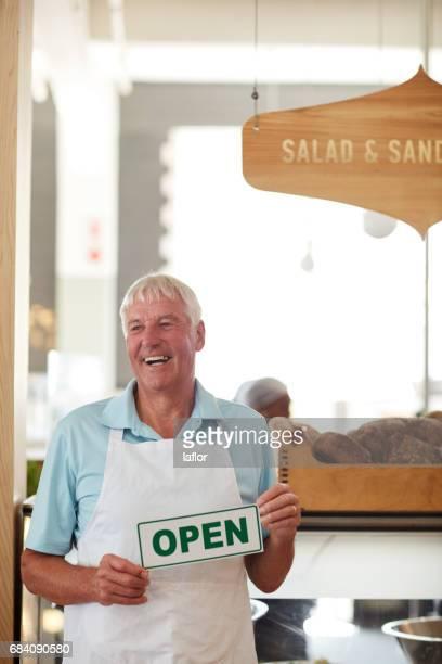 Er wollte schon immer sein eigenes Sandwichbar geöffnet