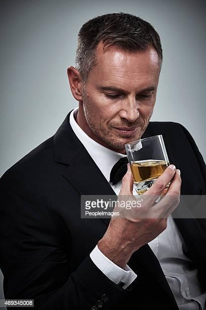 He enjoys a well-aged scotch